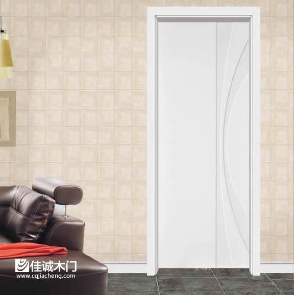 重庆佳诚木门:白色实木门效果图展示